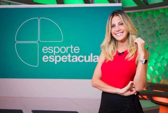 Bárbara Coelho, apresentadora do Esporte Espetacular