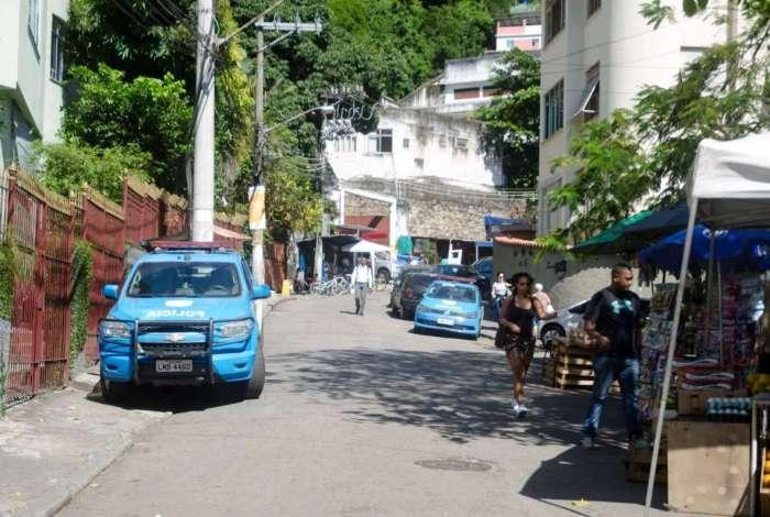 Morro Dona Marta tem tiroteios desde a manhã desta segunda-feira