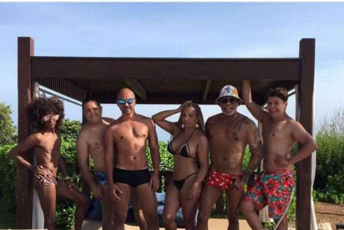 David Brasil, Luciano de Carvalho, Flávia Costa, PaulãoTruqueira, Fausi Humberto e Ricardinho Pro