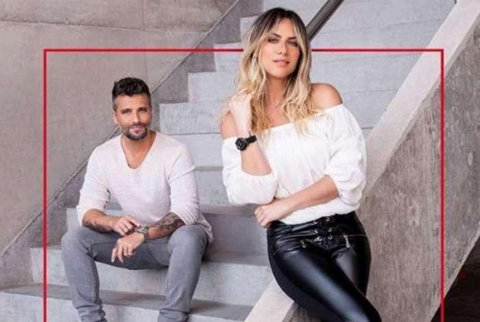Giovanna Ewbank e Bruno Gagliasso em anúncio publicitário