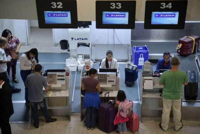 Aeroporto Santos Dumont, no Rio de Janeiro, figura entre os mais movimentados neste fim de ano