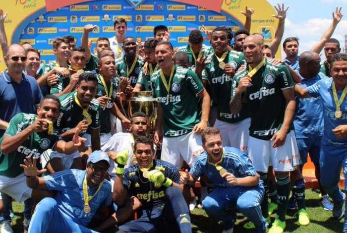 Palmeiras venceu torneio Sub-20