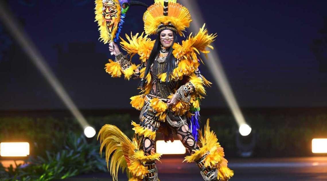 A amazonense Mayra Dias representou o Brasil e ficou entre as 20 semifinalistas