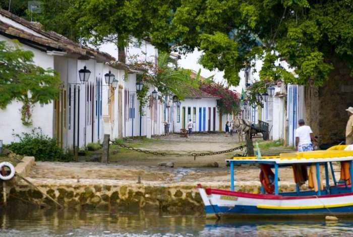 Arquitetura colonial da cidade da Costa Verde vai servir de cenário para diversas atividades culturais