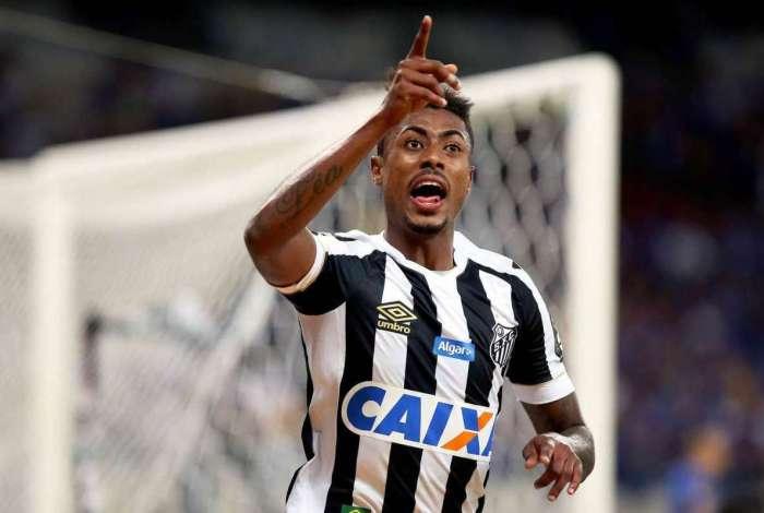 Atacante do Santos, Bruno Henrique