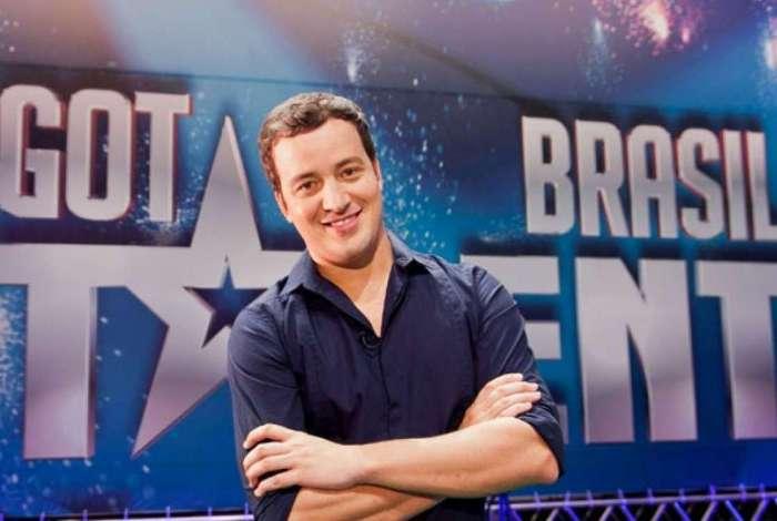 Rafael Cortez apresentou o 'Got Talent Brasil', da Record