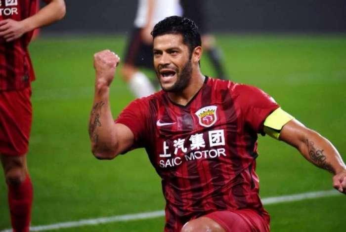 Atualmente Hulk defende o Shangai SIPG, da China