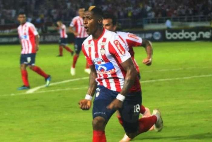 Yony Gonzalez foi vice da Sul-Americana pelo Junior Barranquilla