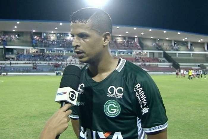 Lucão atuou pelo Goiás se destacou atuando pelo Goiás em 2018