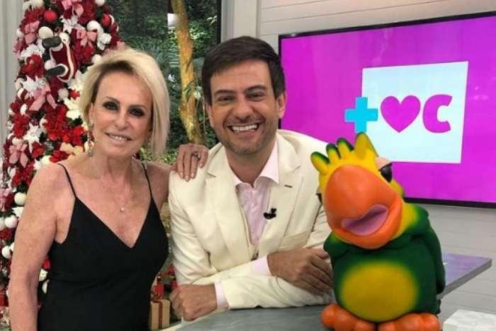 Ana Maria Braga recebeu o jornalista Bruno Astuto no programa Mais Você de hoje