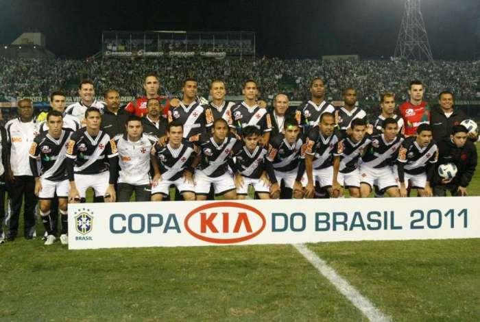 Vasco conquistou Copa do Brasil em 2011