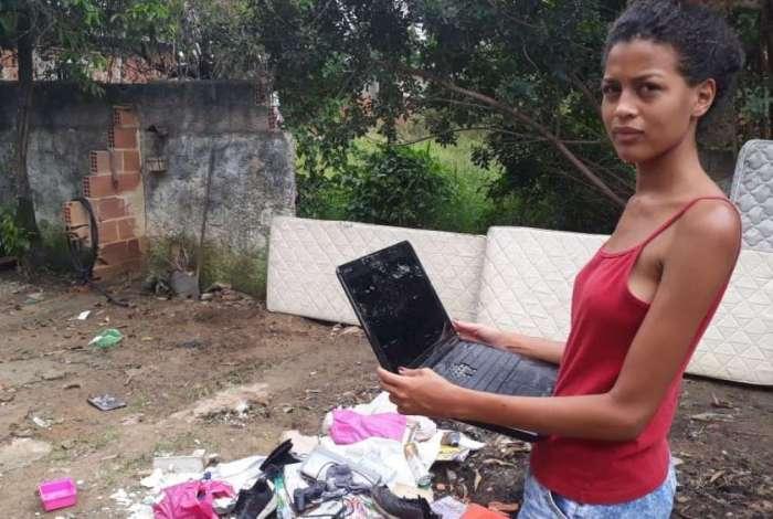 Nova Iguaçu: Defesa Civil volta ao local de rompimento de tubulação para vistoriar imóveis