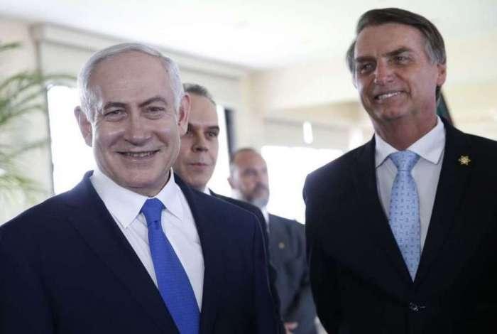 Primeiro-ministro de Israel, Benjamin Netanyahu, é um dos líderes internacionais presentes na posse de Jair Bolsonaro