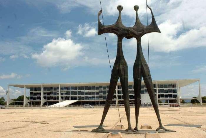 Praça dos Três poderes, em Brasilia vai receber milhares de pessoas para a cerimônia de posse do presidente eleito, Jair Bolsonaro, no dia 1º de janeiro
