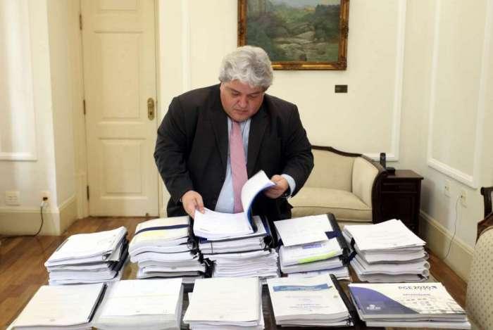 O Secretário da Casa Civil e Desenvolvimento Econômico, Sergio Pimentel