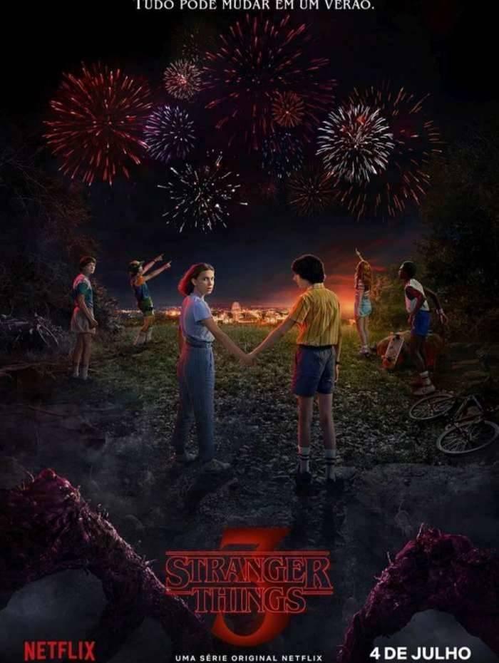 Terceira temporada de 'Stranger Things' estreará no dia 4 de julho, na Netflix
