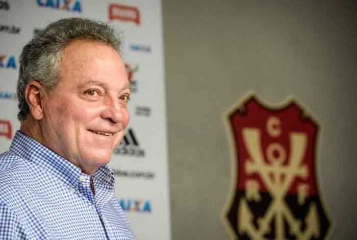 Apresentação de Abel Braga no Flamengo