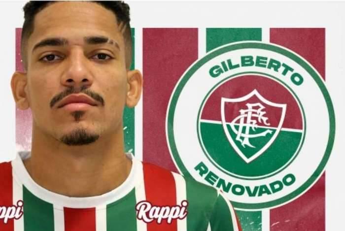 75713a2a28 Fluminense anuncia a renovação de contrato de Gilberto O Dia ...