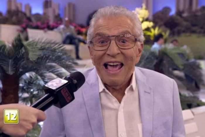 Carlos Alberto de Nóbrega comemora o fim do Tá no Ar'