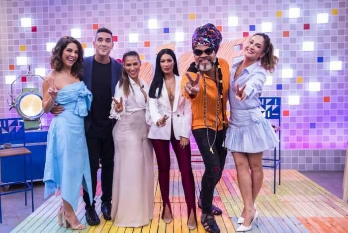 Time 'The Voice Kids': Thalita Rebouças, André Marques, Simone & Simaria, Brown e Claudia Leitte