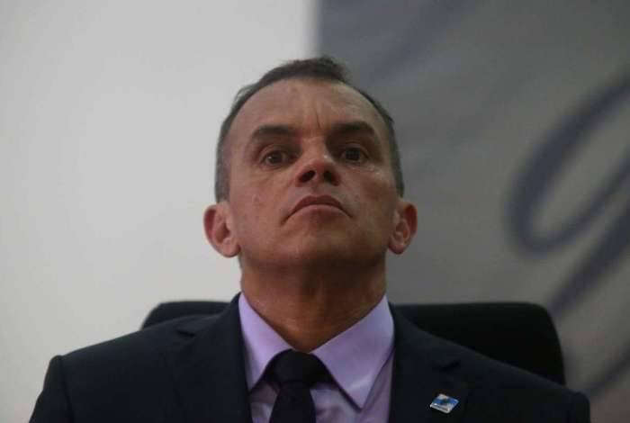 O delegado Marcus Vinícius Braga é o novo secretário de Polícia Civil