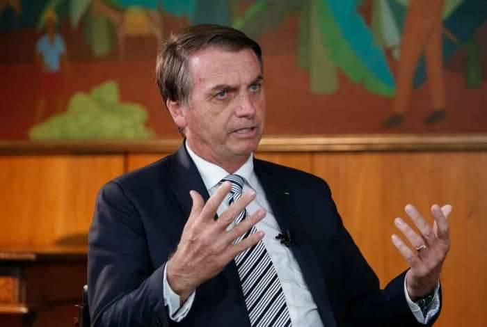 O presidente Jair Bolsonaro, do PSL