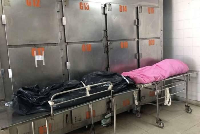 Prefeito Washington Reis encontrou 23 corpos acumulados no hospital municipal