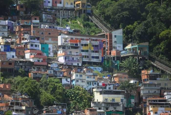 Comunidade do Santa Marta, em Botafogo