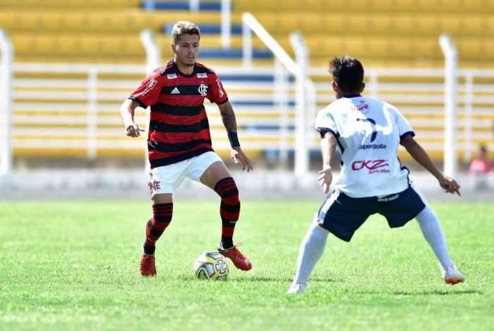 Flamengo venceu na Copinha