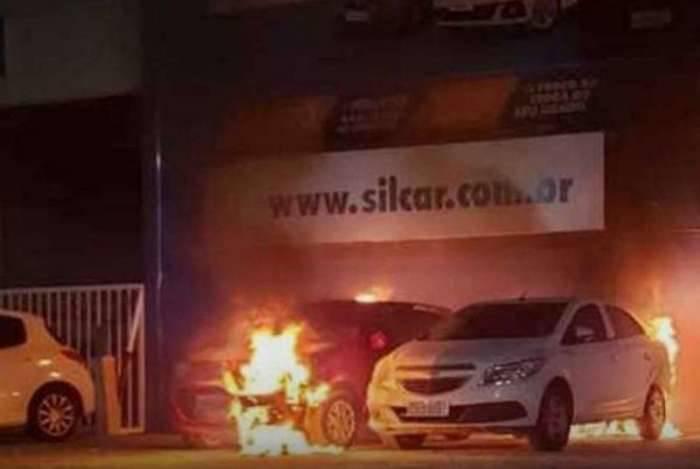 Concessionária foi atacada no Ceará