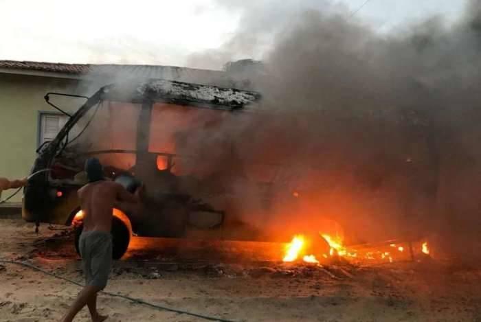 1/3 dos capturados em onda de violência no estado do Ceará é adolescente