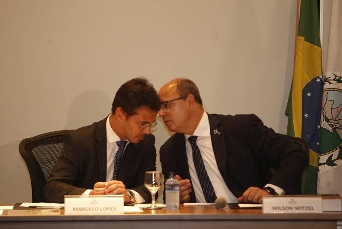 Posse do procurador-geral do Estado do Rio, Marcelo Lopes