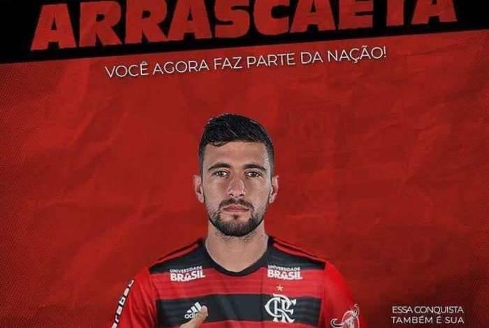Arrascaeta. Arrascaeta - reprodução. Rio - Arrascaeta agora é oficialmente  jogador do Flamengo. Após uma longa negociação ... 4f810bdc7790a