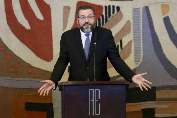 Ministro das Relações Exteriores, Ernesto Araújo
