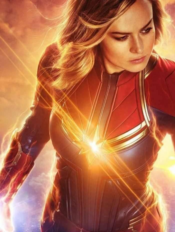 Brie Lason como 'Capitã Marvel'