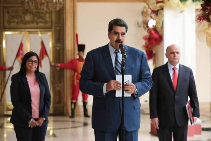 Nicolás Maduro considerou 'inaceitável' a declaração emitida na sexta-feira pelo Grupo de Lima