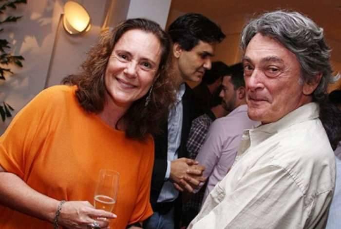 Elizabeth Savalla e o marido Camillo Áttila