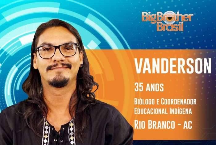 Vanderson em divulgação do BBB 19