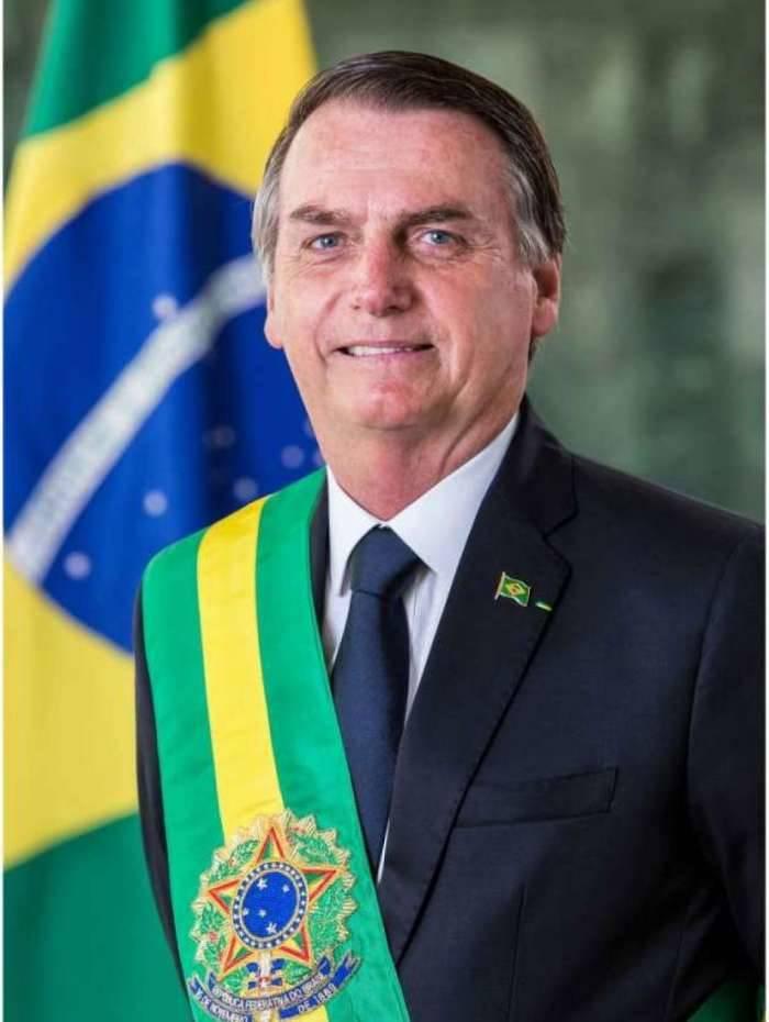 Foto Oficial do Presidente da República, Jair Bolsonaro