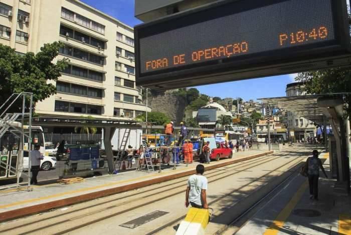 A Linha 3 do VLT está prevista para ser inaugurada na próxima semana