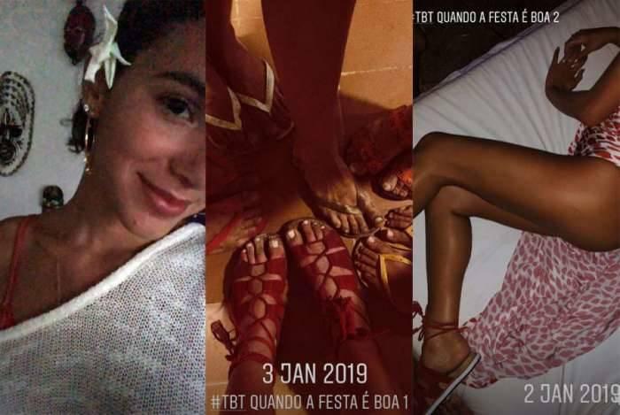 Bruna Marquezine sensualiza e mostra o bumbum em foto pós-festa