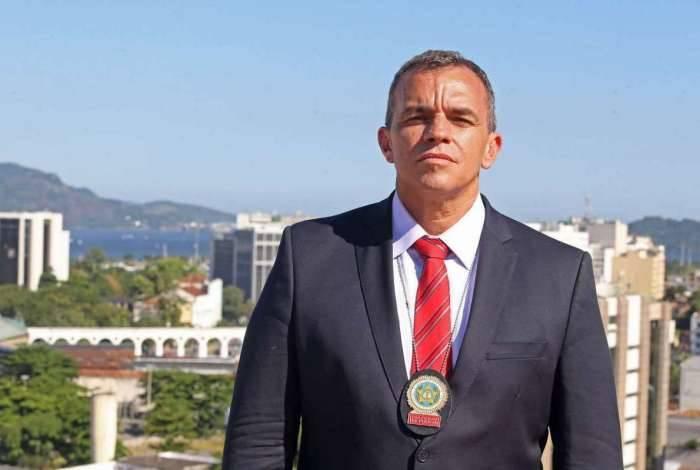 Secretário da Polícia Civil do Estado do Rio, delegado Marcus Vinícius Braga