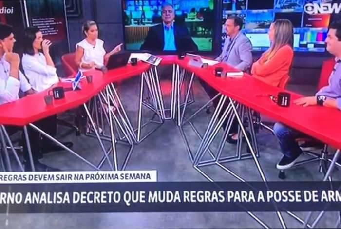 Gemidão do Zap vaza durante programa ao vivo da GloboNews