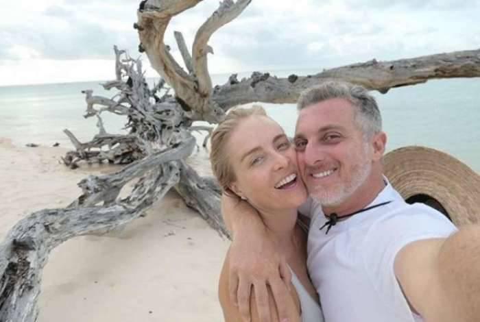 Luciano Huck e Angélica estão de fárias em Moçambique, África
