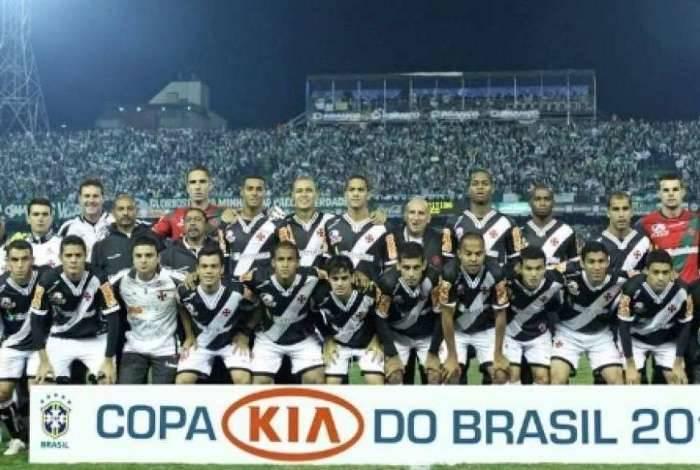 Elton foi campeão da Copa do Brasil