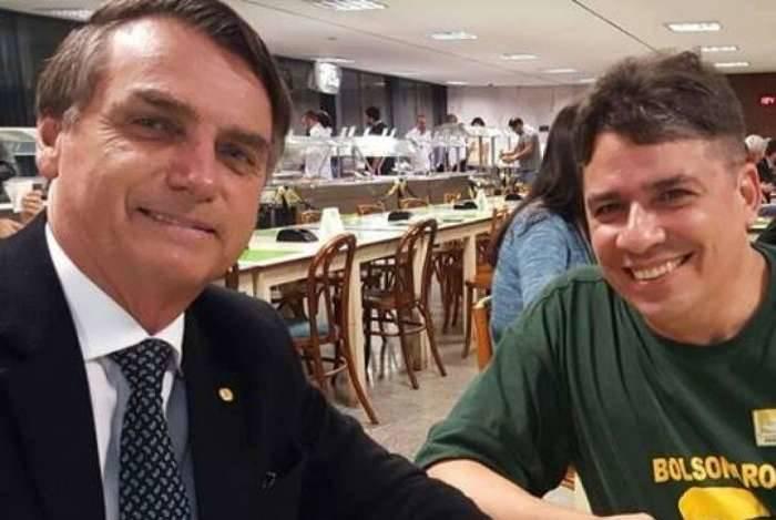 Bolsonaro e o amigo de longa data