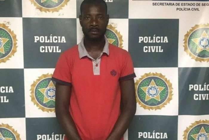 Ambrosio Simão Cassul Muhongo foi preso em flagrante, acusado de estelionato, na Zona Sul do Rio.