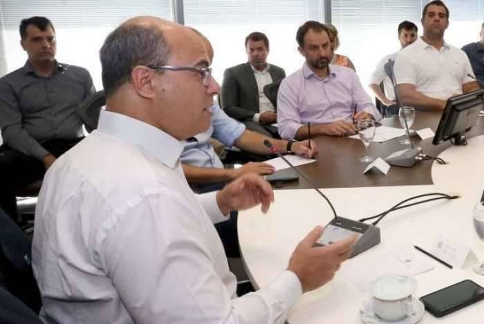 Após reunião de Witzel com os chefes das pastas, secretário de Fazenda anunciou contingenciamento