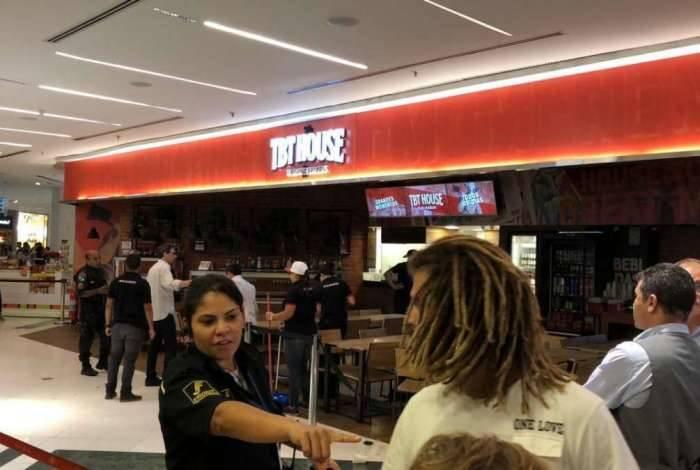 Explosão em restaurante no RioSul deixou turistas feridos