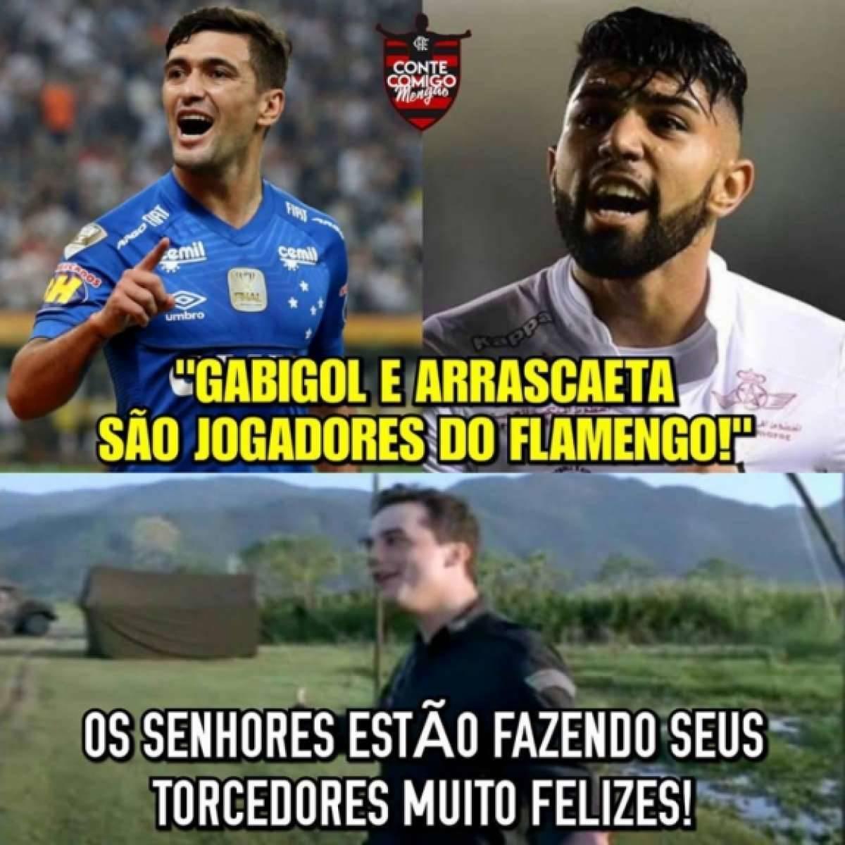 96f1e7df2c Torcida do Flamengo encheu a Internet de memes Reprodução Internet.  Torcedores do Flamengo fazem memes para comemorar vitória Reprodução